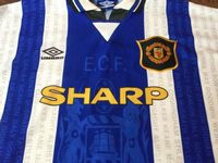 Global Classic Football Shirts | 1994 Manchester United Vintage Old Soccer Jerseys